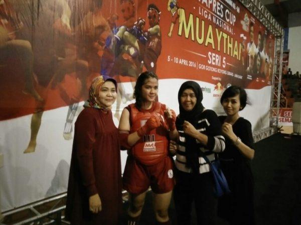 Juara 1 Liga Nasional Muaythai