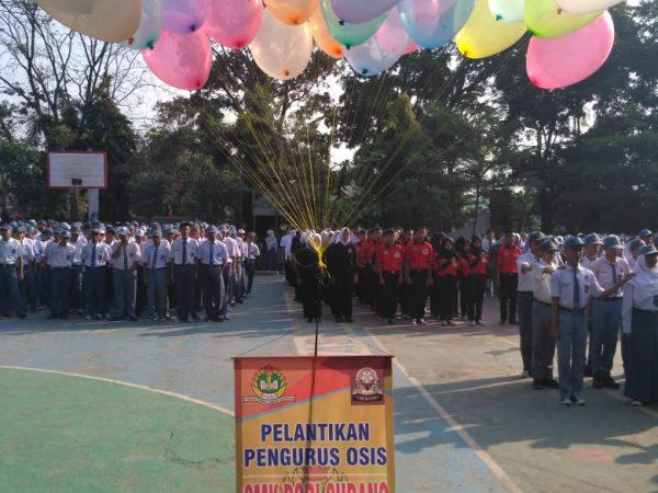 Pelantikan Pengurus OSIS Periode 2018-2019