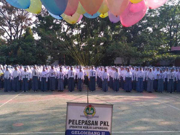 Pelepasan PKL Gelombang II Tahun Ajaran 2018-2019