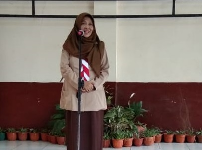 Serah Terima Beasiswa Taekwang Untuk Siswa-Siswi Berprestasi di SMK PGRI Subang
