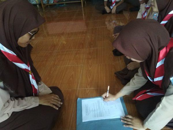 Serah Terima Jabatan Pengurus Dewan Ambalan Sangkuriang & Dayang Sumbi Tahun 2018