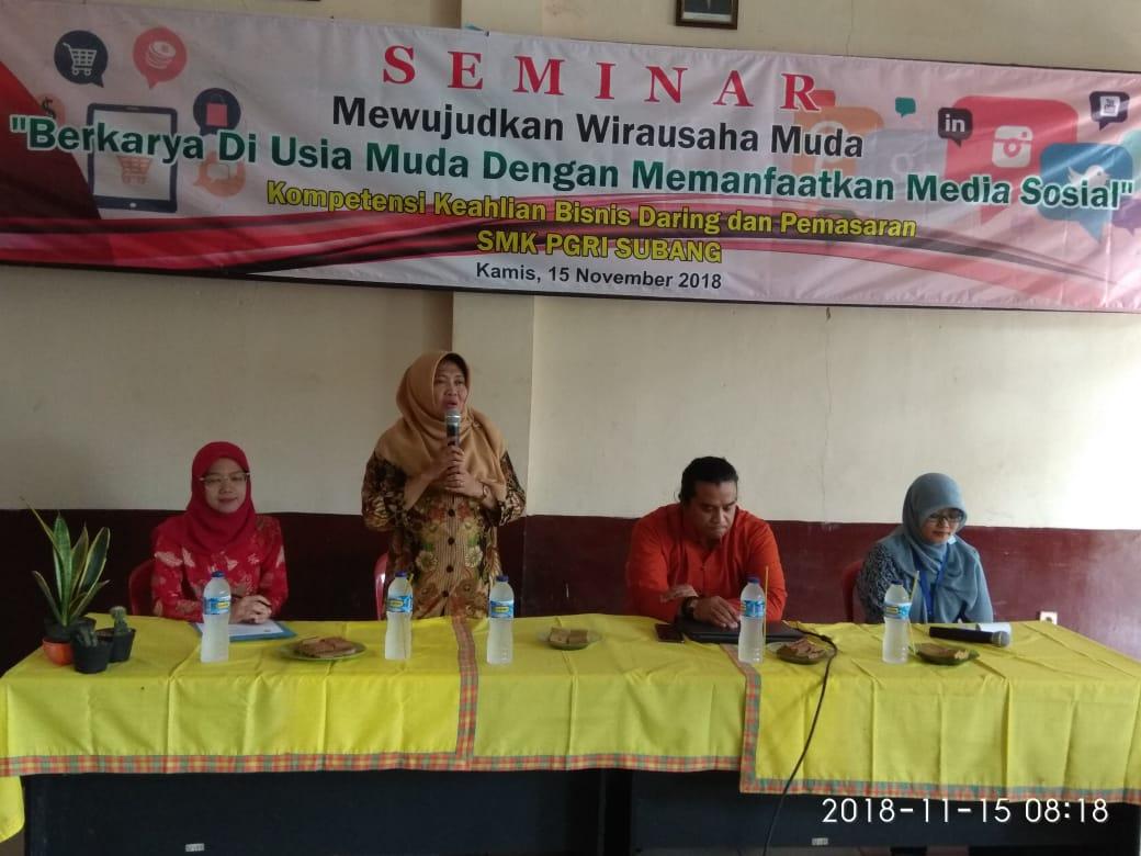 Seminar Mewujudkan Wirausaha Muda