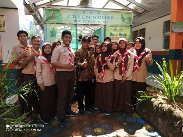 Kunjungan dari SMPN 1 Cibogo