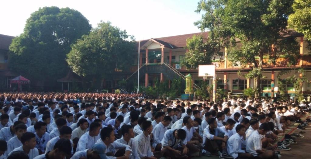 Dziqir dan Doa bersama Warga SMK PGRI Subang